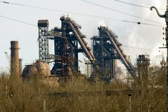 Iron and steel metallurgical Plant Stock Photos