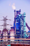 Iron and Steel Plant. The blast furnace of iron and steel plant Stock Photography