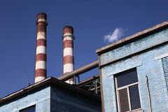 Iron and Steel Plant2 Royalty Free Stock Photo