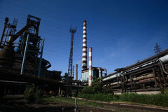 Iron and Steel Plant3 royalty free stock photos
