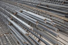 Iron and steel reinforcement Royalty Free Stock Photography