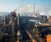 Iron and Steel Works Royalty Free Stock Images