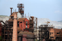 Iron and Steel Works. Satka Stock Photos