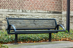 Iron street bench Stock Photos