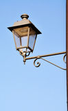 Iron street lantern Stock Photos