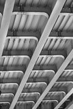 Iron structure bridge Stock Photos