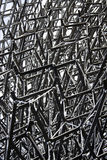 Iron structure. Iron pavilion in Expo Milan Royalty Free Stock Photos