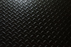 Iron surface. With anti-slip relief pressed royalty free stock photography