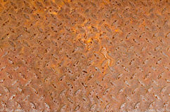 Iron surface rust Stock Images