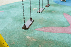Iron swing Stock Images