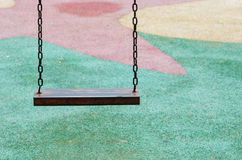 Iron swing Royalty Free Stock Photography