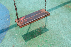 Iron swing Stock Photography