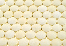 Iron tablets Stock Image