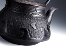 Iron teapot Stock Photography