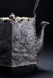 Iron teapot Stock Images
