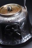 Iron teapot Stock Photos