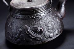 Iron teapot Royalty Free Stock Photography