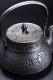 Iron teapot Stock Photo