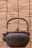 Iron teapot Stock Photography