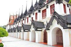 Iron temple Loha Prasat in Wat Ratchanatdaram Worawihan Stock Image