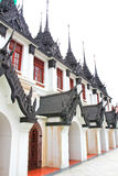 Iron temple Loha Prasat in Wat Ratchanatdaram Worawihan Royalty Free Stock Photography