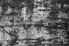 Iron texture in black and white. Rusty sheet. Scratched sheet Royalty Free Stock Photos