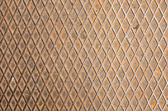 Iron textures grid. Oxide iron, grid texture of metal plate Stock Images