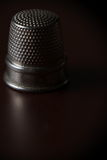 Iron Thimble. Simple inventions like the thimble make life a lot easier ...and less painful Stock Photos
