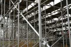 Iron threads 5. Base structure of an open arena royalty free stock photo