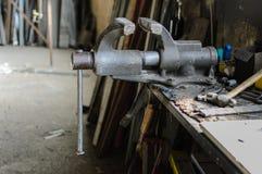 Iron tools IV Royalty Free Stock Photo