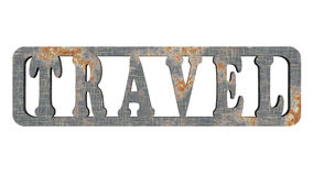 Iron travel Royalty Free Stock Image