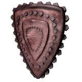 Iron Triangle Shield Royalty Free Stock Image