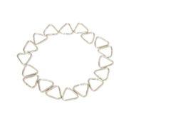 Iron triangle Royalty Free Stock Photo