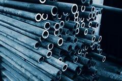Iron Tubes Stock Photography