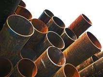 Iron tubes Royalty Free Stock Images