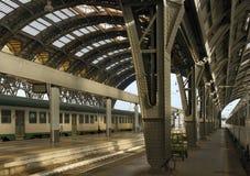 Iron vaulted platforms, Milan Royalty Free Stock Image