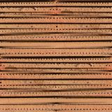 Iron ventilation grill seamless background texture Royalty Free Stock Photography
