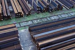 Iron warehouse Stock Image