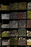 Iron warehouse Stock Photo
