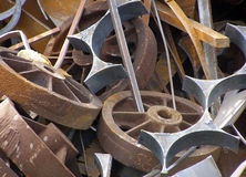 Iron waste Stock Photography