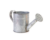 Iron watering can Stock Image