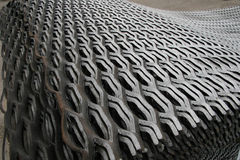 Iron wave. Combined in a warehouse Royalty Free Stock Image