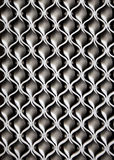 Iron wave texture. Wavy pattern Stock Image
