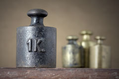 Iron weight Royalty Free Stock Photo