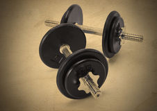 Iron Weights Set Royalty Free Stock Image