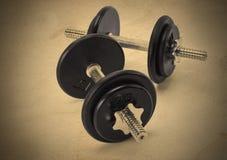 Iron Weights Set Royalty Free Stock Image