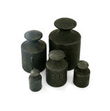 Iron weights unit Royalty Free Stock Photo
