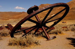 Iron Wheel Stock Photography
