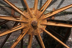 Iron wheel Royalty Free Stock Image