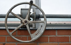 Iron Wheel Contraption Stock Images
